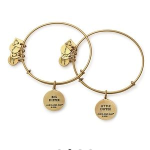 Alex and Ani Jewelry - Alex and ani big and Little Dipper bracelets